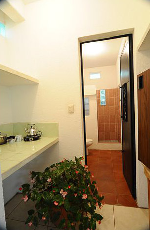 Kitchenette and Bathroom of Room 2